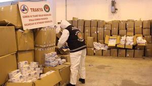 İpsala Sınır Kapısında tırda 767 bin tıbbi maske ele geçirildi