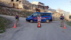 Ardahan Posof'ta bir köy karantinaya alındı