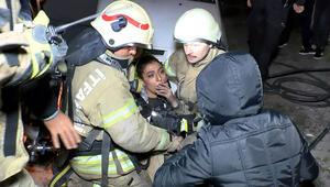 Güngörende doğalgaz patlaması: 1i ağır 4 yaralı