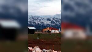 Göksunda bir mahalle karantinaya alındı