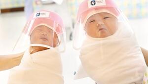 Bebeklere yüz siperliği