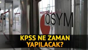 KPSS 2020 ne zaman yapılacak KPSS lisans, ön lisans başvuru tarihleri açıklandı mı