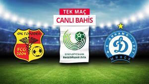 Belarusta futbol tüm hızıyla sürüyor Dinamo Minskin iddaa oranı...