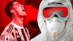 Cristiano Ronaldo bu kez abarttı Virüse rağmen...