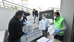 10 bin aileye yardım paketi