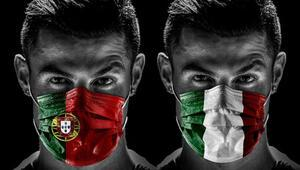 Karantinayı hiçe sayan Cristiano Ronaldodan corona virüs (koronavirüs) paylaşımı