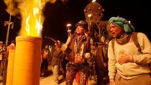 Dünyaca ünlü Burning Man Festivali iptal edildi