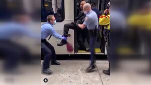 Maskesiz otobüse binen adam yaka paça böyle indirildi