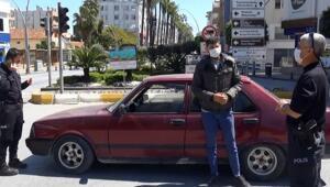 Ağabeyim bırakmadı diyen ehliyetsiz sürücüye 3748 lira ceza