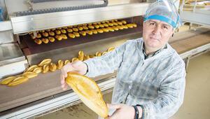 24 saatte 950 bin ekmek üretiyorlar