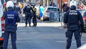 Belçika'da kısıtlama sırasında olaylar çıktı