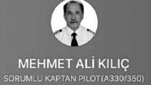 Türk Hava Yolları kaptan pilotu Corona Virüs nedeniyle hayatını kaybetti