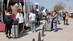 KKTC dönüşü Karamanda karantinaya alınan 473 kişi, evlerine gönderildi