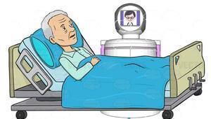 Yıldız Teknopark sağlık çalışanlarına yardımcı olması için robot üretti