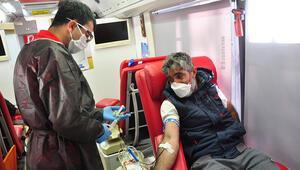 Koronavirüs nedeniyle sıkıntı çeken talasemi hastaları için kan bağışı kampanyası