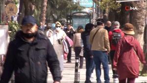Bağdat Caddesinde pes dedirten görüntü