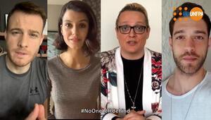 Sanatçılar korona ile mücadele için 'Yalnız değilsiniz' mesajı verdi