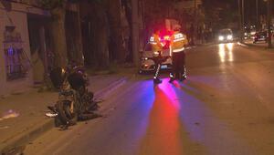 Ters yönden gelen motosiklet otomobil ile çarpıştı: 2 ağır yaralı