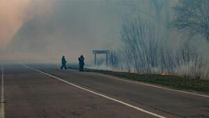 SON DAKİKA HABERİ: Ukrayna yangın şokunu yaşıyor Çernobil nükleer santrali dünyayı bir kez daha tehdit ediyor