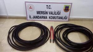 Mersinde çaldılar, Adanada tutuklandılar