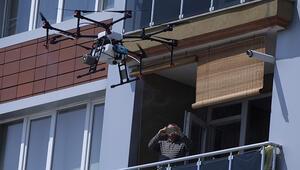 Edirne Valisi talimat verdi... Drone ile dezenfekte ediliyor