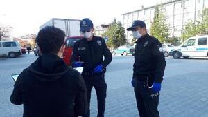 Emet'te 2 kişiye 'sokağa çıkma' cezası