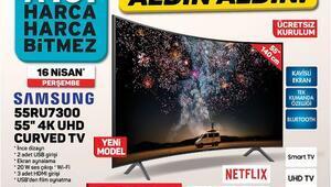16 Nisan 2020 A101 aktüel ürünler kataloğunda neler var A101 aktüel kataloğunda HD televizyon ve telefon sürprizi