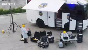 Yeni nesil kriminal inceleme aracı Kıraçlar polisin hizmetinde