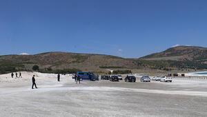 Salda Gölündeki çalışma durduruldu Sorumlular hakkında işlem başlatıldı