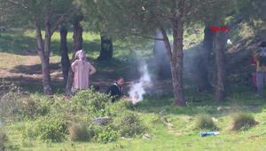 Yasağa rağmen bazı vatandaşlar piknik yaptı, bazıları ise balık tuttu