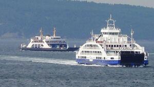 Gökçeada'ya yarın fırtına nedeniyle tüm feribot seferleri iptal edildi