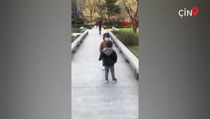 Çinde iki minik dost 78 gün sonra hasret giderdi