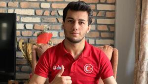 Milli karateci Burak Uygur: Hedefim olimpiyat altını