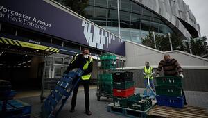 Tottenham Hotspur Stadında koronavirüs testi yapılmaya başlandı