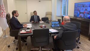 Bakan Albayrak paylaştı G20 Maliye Bakanları ve Merkez Bankası Başkanları Kovid-19 gündemiyle toplandı