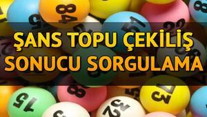 983. hafta Şans Topu sonuçları sorgulama ekranı 15 Nisan 2020 MPİ Şans Topu çekiliş sonuçları belli oldu