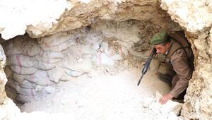 Suriyede teröristlerin kullandığı 4 bin tünel, imha edildi