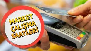 Marketler bugün saat kaça kadar açık Marketler saat kaçta kapanacak Migros, Carrefour, BİM, ŞOK, A101 çalışma saatleri