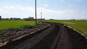 Bağlarda kırsal mahallelerin yolları yenilendi