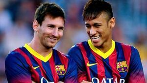 Barcelonadan Lionel Messi ve Neymar operasyonu