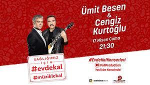 Ümit Besen ve Cengiz Kurtoğlu bu kez canlı yayında