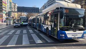 Otobüsler yasaktan muaf olanlara hizmet verecek