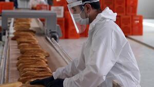 Etimesgut'da günlük 100 bin ekmek