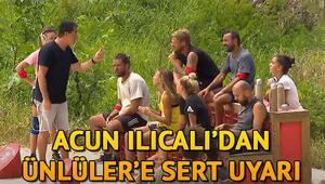 Survivor yeni bölüm fragmanında Acun Ilıcalıdan sert uyarı Survivorda erzak ödülünü kim kazandı