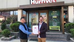 Tarım ve Orman Bakanlığından İzmirli basın mensuplarına sağlık paketi