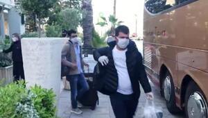 Yunanistanda karantinaya alınan Türkler, yurda dönüyor