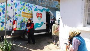Süleymanpaşa Belediyesinden kimsesiz yaşlı ve engellilere destek