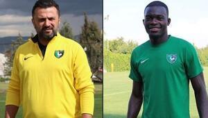 Bülent Uygun yeni sezonda Sackey ile devam etmek istiyor