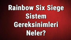 Rainbow Six Siege Sistem Gereksinimleri Neler Rainbow Six Siege İçin Önerilen Ve Minimum (En Düşük) Gereksinimler