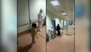 Kahramanmaraşta 4 yaşındaki çocuk koronayı yendi